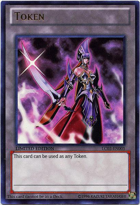 YuGiOh Legendary Collection 3 Ultra Rare Emissary of Darkness Token LC03-EN005