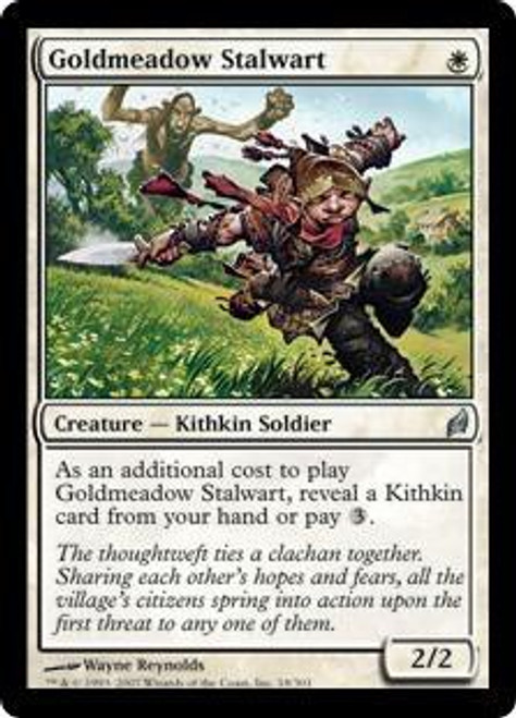 MtG Lorwyn Uncommon Goldmeadow Stalwart #18