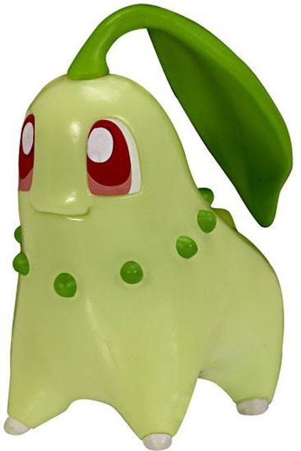 Pokemon Chikorita Figure [Loose]