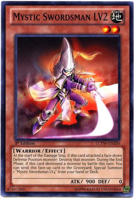 YuGiOh Legendary Collection 3 Common Mystic Swordsman LV2 LCYW-EN200