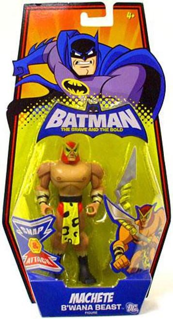 Batman The Brave and the Bold Machete B'Wana Beast Action Figure