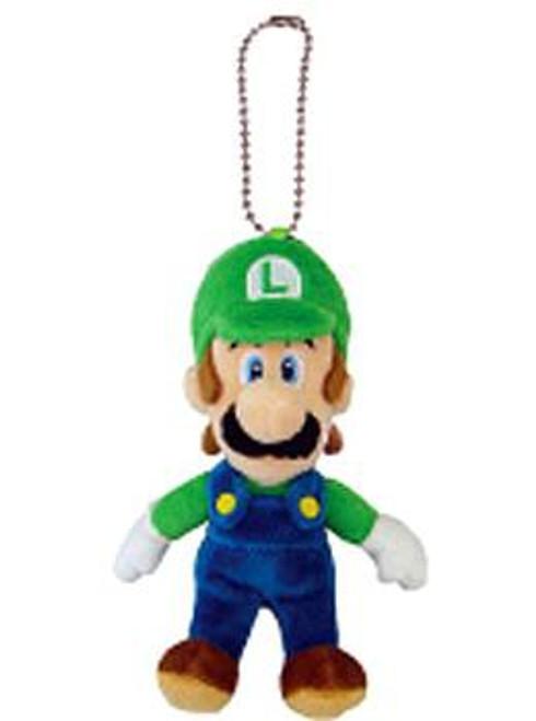 Super Mario Bros Luigi 5-Inch Plush Keychain