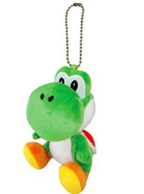 Super Mario Bros Yoshi 5-Inch Plush Keychain