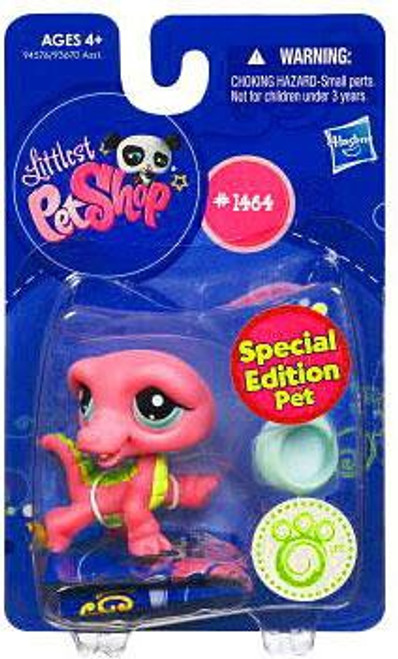 Littlest Pet Shop Crocodile Figure #1464 [Pink]