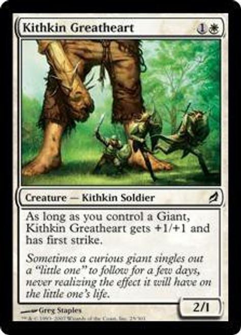 MtG Lorwyn Common Kithkin Greatheart #25