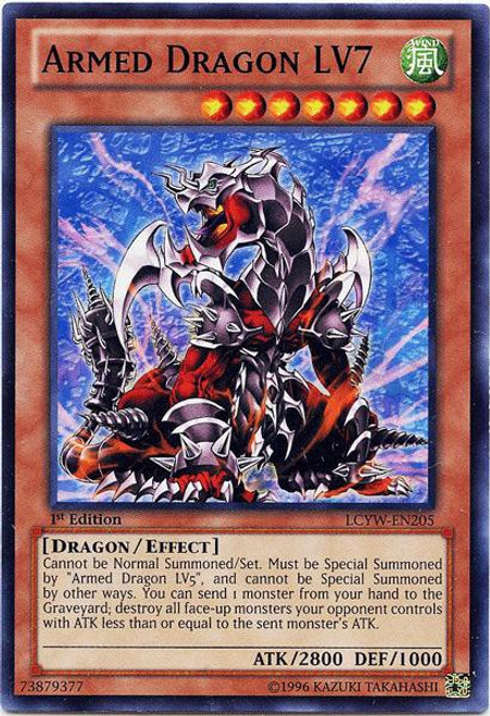 YuGiOh Legendary Collection 3 Common Armed Dragon LV7 LCYW-EN205