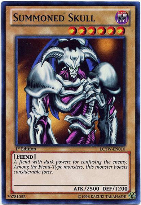 YuGiOh Legendary Collection 3 Super Rare Summoned Skull LCYW-EN010