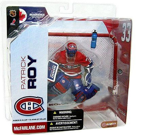 McFarlane Toys NHL Montreal Canadiens Sports Picks Series 5 Patrick Roy Action Figure [Red Jersey Variant]
