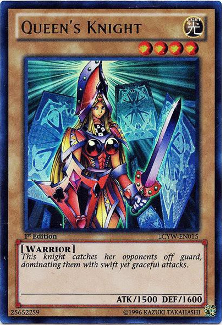 YuGiOh Legendary Collection 3 Ultra Rare Queen's Knight LCYW-EN015