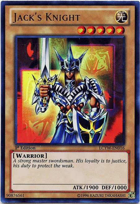 YuGiOh Legendary Collection 3 Ultra Rare Jack's Knight LCYW-EN016