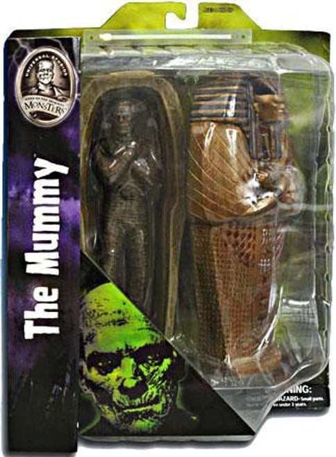 Universal Monsters The Mummy Action Figure [With Casket]
