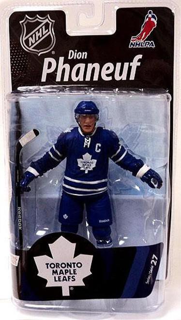 McFarlane Toys NHL Toronto Maple Leafs Sports Picks Series 27 Dion Phaneuf Action Figure [Blue Jersey]