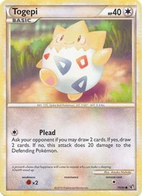 Pokemon HeartGold & Soulsilver Undaunted Common Togepi #70
