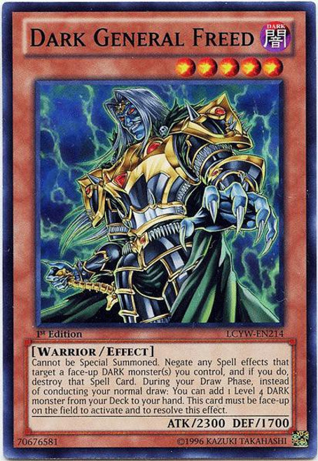 YuGiOh Legendary Collection 3 Common Dark General Freed LCYW-EN214