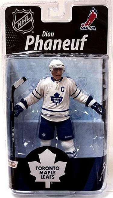 McFarlane Toys NHL Toronto Maple Leafs Sports Picks Series 27 Dion Phaneuf Action Figure [White Jersey]