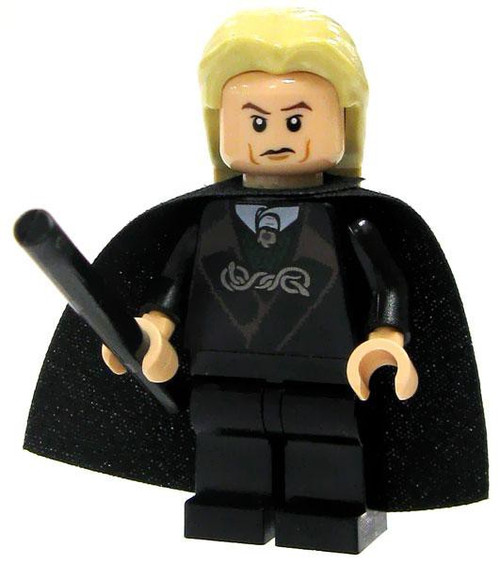 LEGO Harry Potter Lucius Malfoy Minifigure #1 [Black Suit Loose]