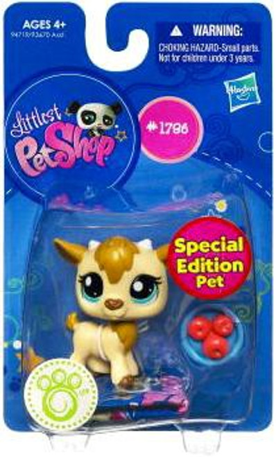 Littlest Pet Shop Goat Figure #1796 [Apples]