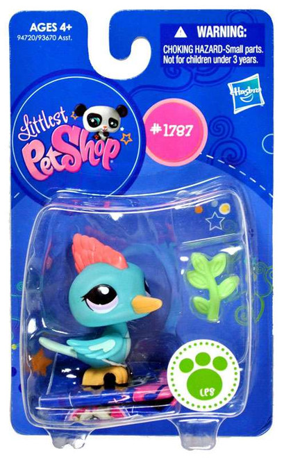 Littlest Pet Shop Woodpecker Figure #1787