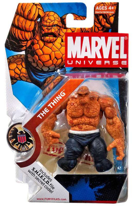 Marvel Universe Series 3 The Thing Action Figure #19 [Dark Pants]