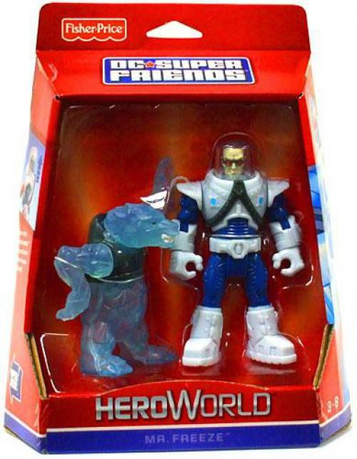 Fisher Price Batman DC Super Friends Hero World Mr. Freeze Action Figure