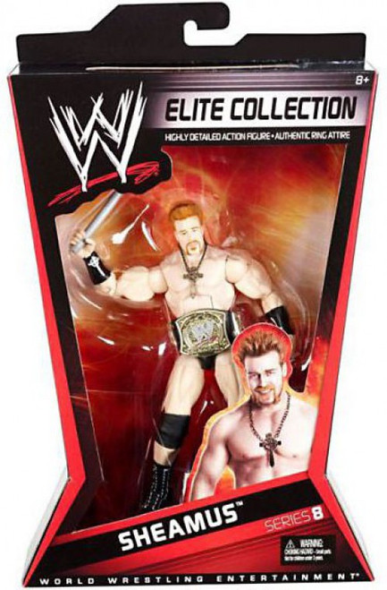 WWE Wrestling Elite Collection Series 8 Sheamus Action Figure