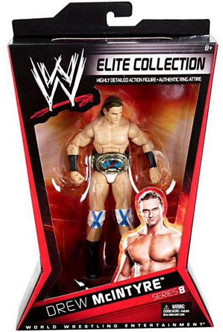 WWE Wrestling Elite Collection Series 8 Drew McIntyre Action Figure