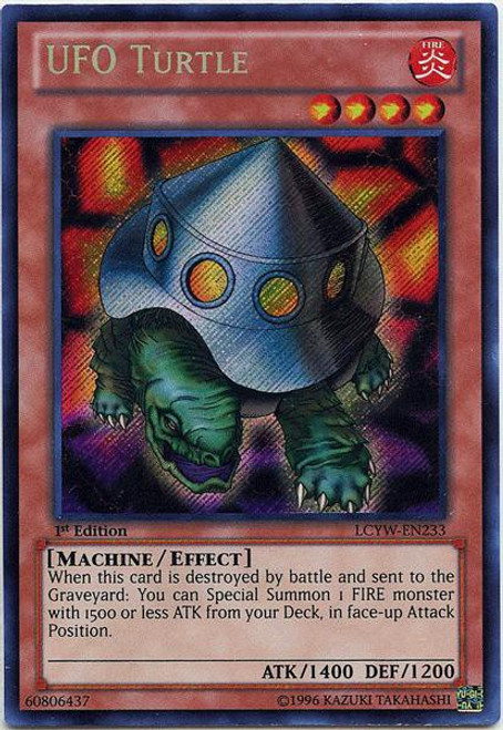 YuGiOh Legendary Collection 3 Secret Rare UFO Turtle LCYW-EN233