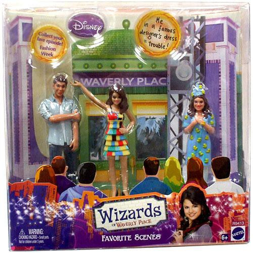 Disney Wizards of Waverly Place Fashion Week Doll Set