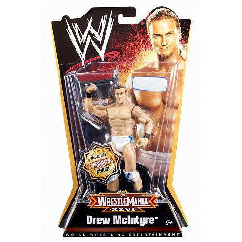 WWE Wrestling WrestleMania 26 Drew McIntyre Exclusive Action Figure