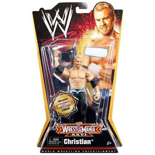 WWE Wrestling WrestleMania 26 Christian Exclusive Action Figure