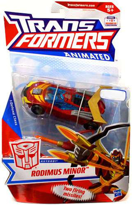 Transformers Animated Rodimus Minor Exclusive Deluxe Action Figure
