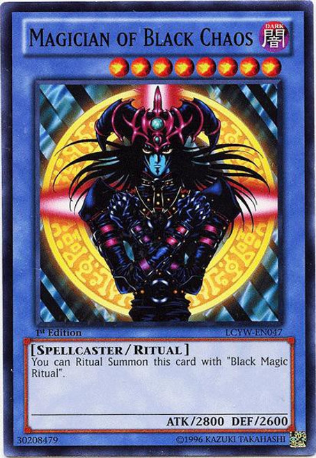 YuGiOh Legendary Collection 3 Common Magician of Black Chaos LCYW-EN047