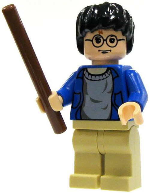 LEGO Harry Potter Minifigure #1 [Blue Sweater, Tan Pants Loose]