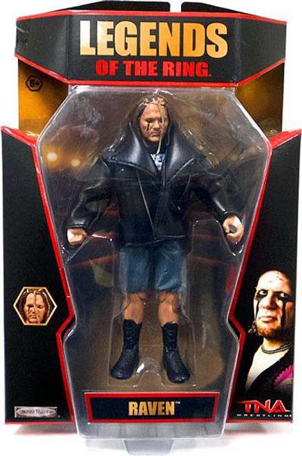 TNA Wrestling Deluxe Impact Series 5 Raven Action Figure [Legends of the Ring]