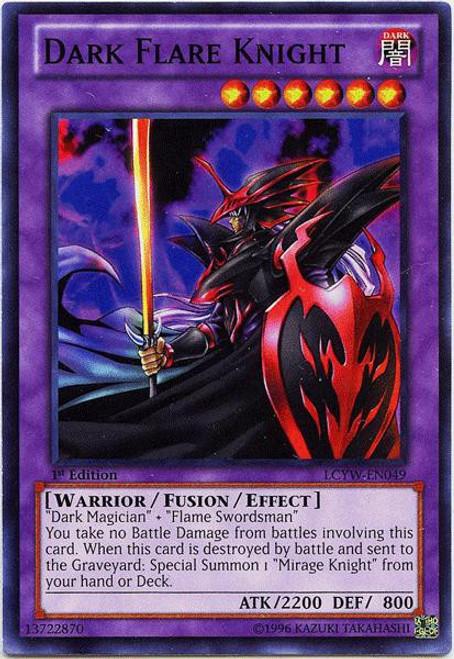 YuGiOh Legendary Collection 3 Common Dark Flare Knight LCYW-EN049