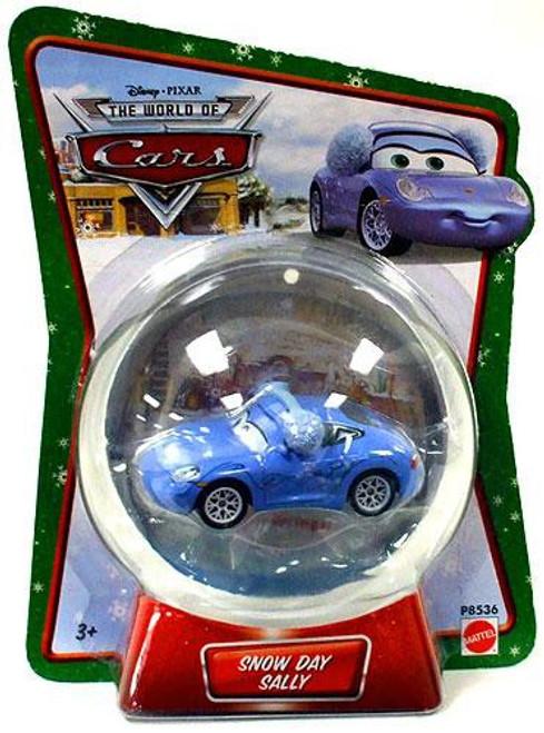Disney / Pixar Cars The World of Cars Snow Day Sally Diecast Car