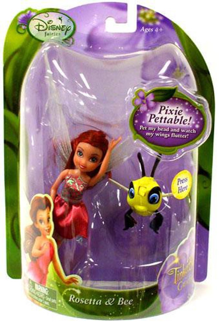 Disney Fairies Tinker Bell & The Great Fairy Rescue Rosetta & Bee 4-Inch Figure 2-Pack