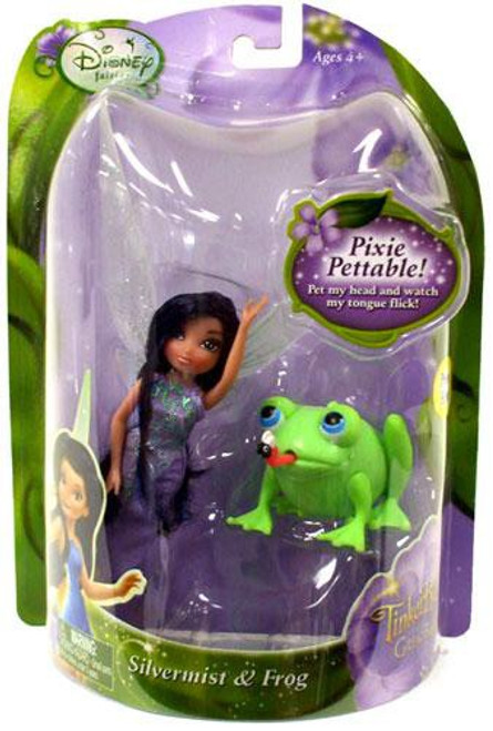 Disney Fairies Tinker Bell & The Great Fairy Rescue Silvermist & Frog 4-Inch Figure 2-Pack