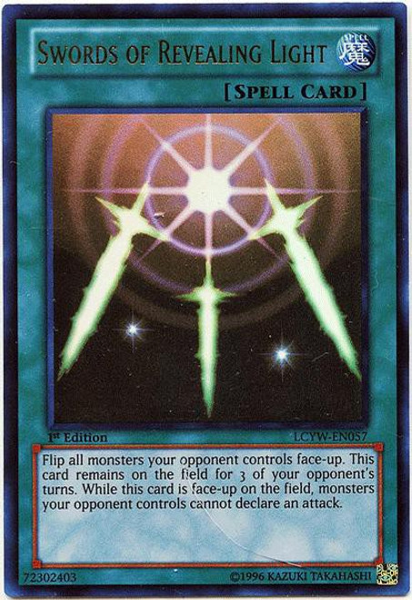 YuGiOh Legendary Collection 3 Ultra Rare Swords of Revealing Light LCYW-EN057