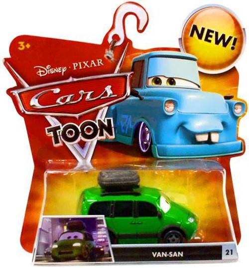 Disney / Pixar Cars Cars Toon Main Series Van-San Diecast Car #21