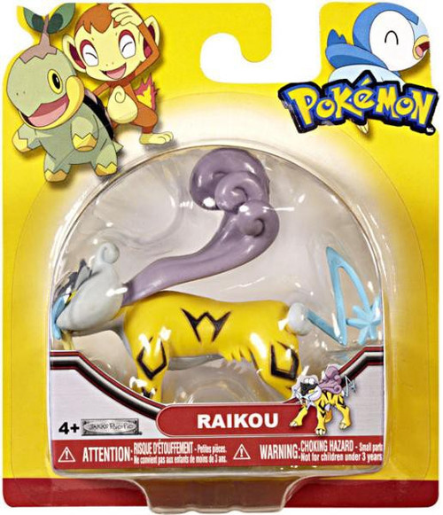 Pokemon Series 18 Raikou Figure