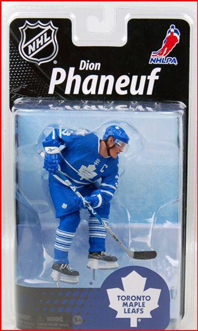 McFarlane Toys NHL Toronto Maple Leafs Sports Picks Exclusive Dion Phaneuf Exclusive Action Figure