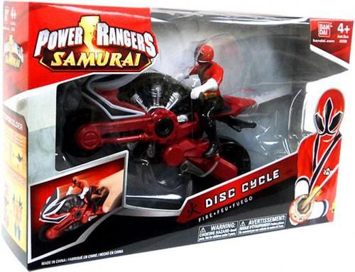 Power Rangers Samurai Disc Cycle Action Figure [Fire]