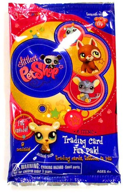 Littlest Pet Shop Teeniest Edition Trading Card Pack