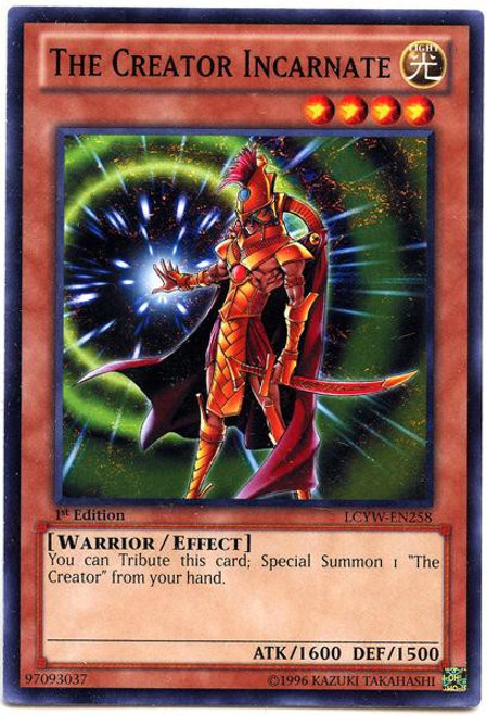 YuGiOh Legendary Collection 3 Common The Creator Incarnate LCYW-EN258