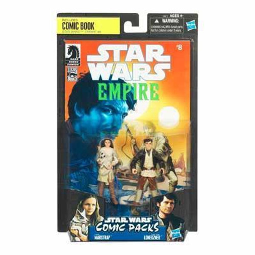 Star Wars Expanded Universe Comic Packs 2010 Camie Marstrap & Laze Fixer Loneozner Exclusive Action Figure 2-Pack #8