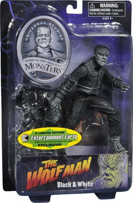 Universal Monsters The Wolfman Exclusive Action Figure [Black & White]