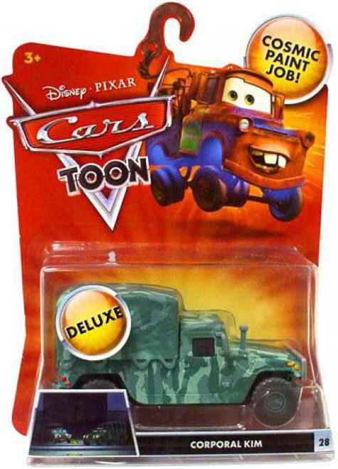 Disney / Pixar Cars Cars Toon Deluxe Oversized Corporal Kim Diecast Car