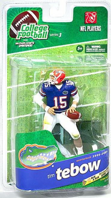 McFarlane Toys NCAA College Football Sports Picks Series 3 Tim Tebow Action Figure [White Pants]