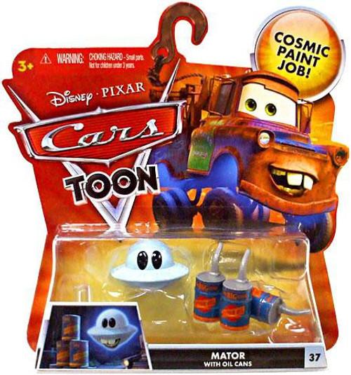 Disney / Pixar Cars Cars Toon Main Series Mater with Oil Cans Diecast Car #37